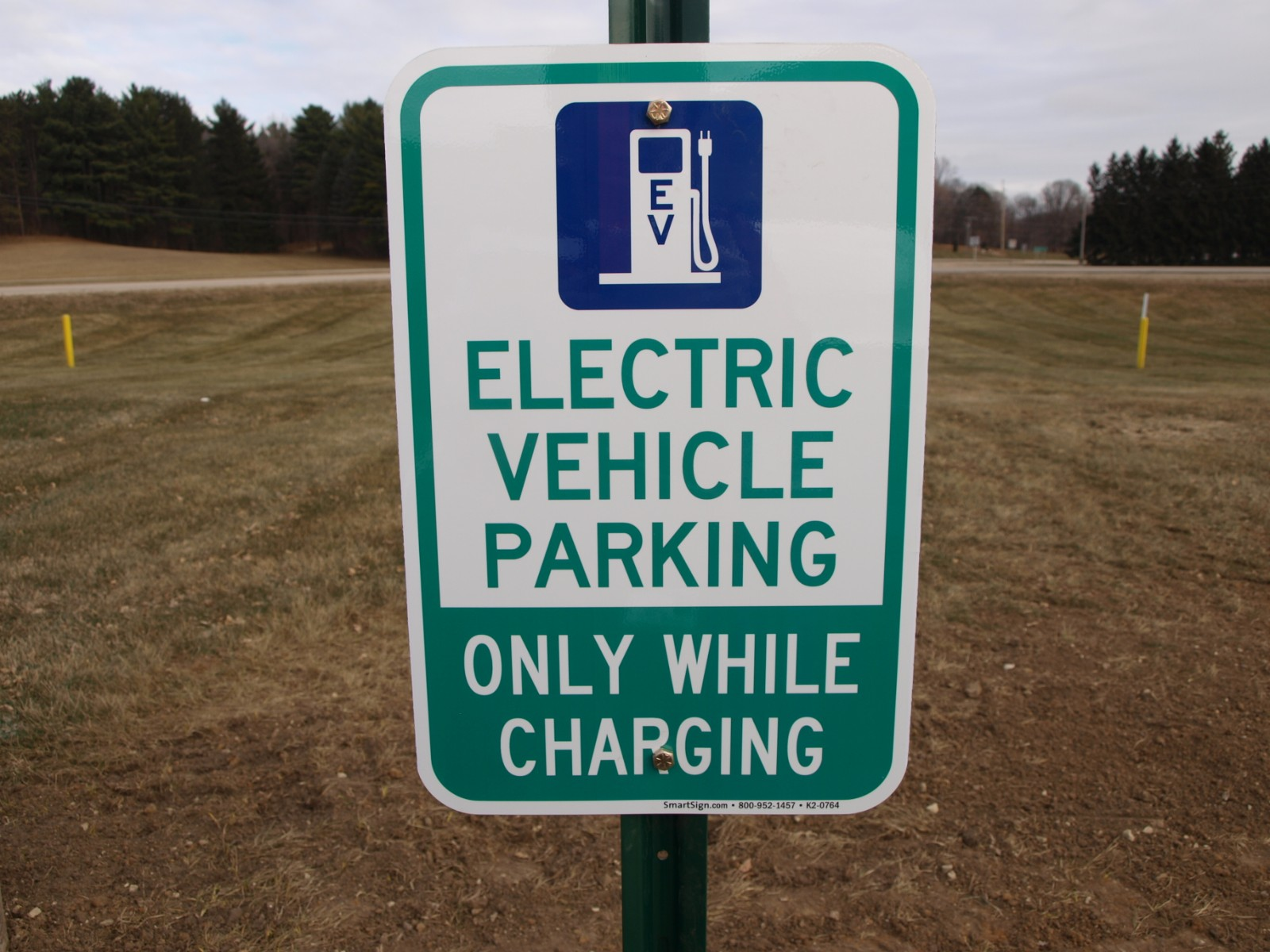EV Parking - Only while charging