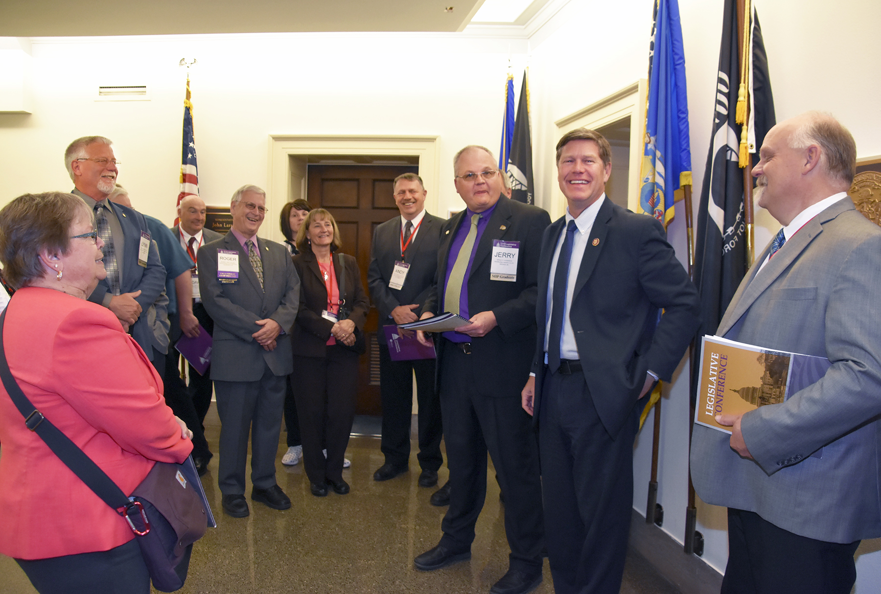 Congressman Ron Kind met with the Wisconsin delegation.